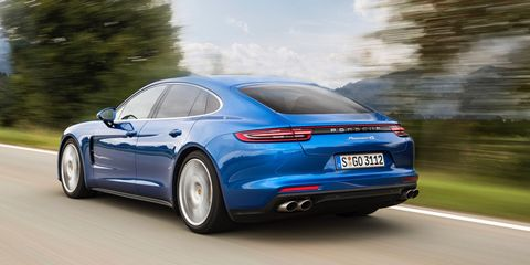 First Drive 2017 Porsche Panamera 4s And Turbo