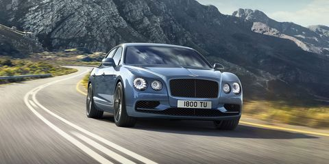 The New Bentley Flying Spur W12 S Can Go Faster Than Most Supercars