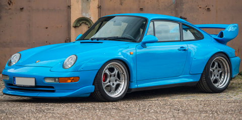 Porsche 911 GT2 993 Riviera Blue