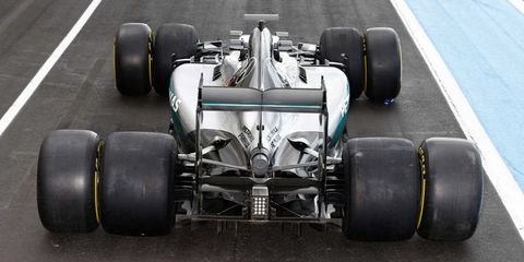 The Shocking Difference Between the Current and 2017 F1 Tires