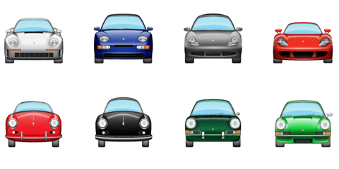 These Porsche Emoji for iOS 10 Are Perfection
