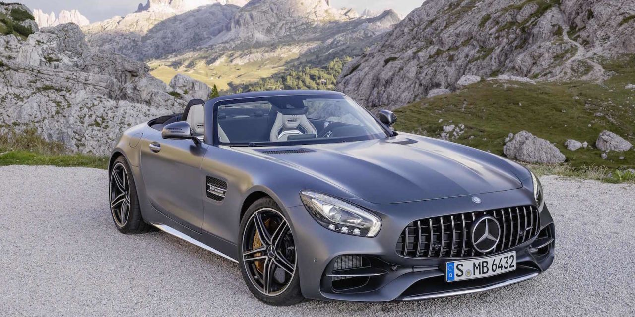 This Is the Gorgeous, 550-HP Mercedes-AMG GT C Roadster