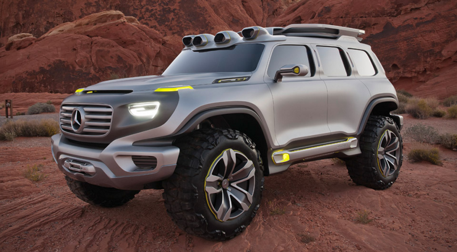 Mercedes Is Reportedly Working On a Baby G-Wagen