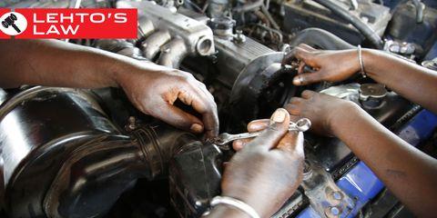 Engine, Machine, Auto part, Automotive fuel system, Mechanic, Nail, Automotive engine part, Auto mechanic, Sculpture, Fuel line,