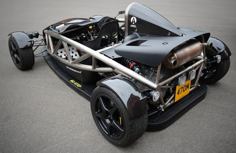 This Ariel Atom Uses Electric Fans To Suck It Into The Ground