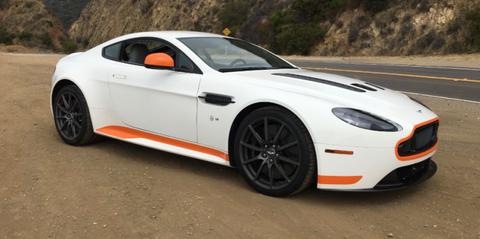 Aston Martin V12 Vantage S One Take