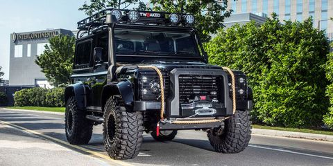 This Company Will Build You a James Bond-Inspired Land Rover Defender