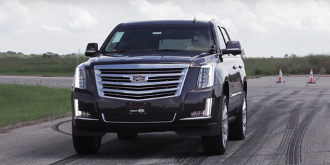 Hennessey Will Now Sell You an 842-Horsepower Cadillac Escalade