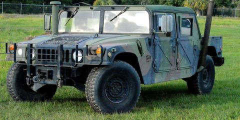 Now's Your Chance to Buy a Real Humvee From Uncle Sam