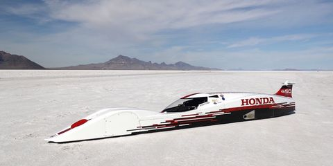 Land Speed Record >> This 660cc Honda Set A Land Speed Record At Bonneville