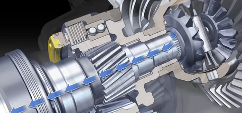 15: Electronically Controlled Torque Vectoring Differential, 1996