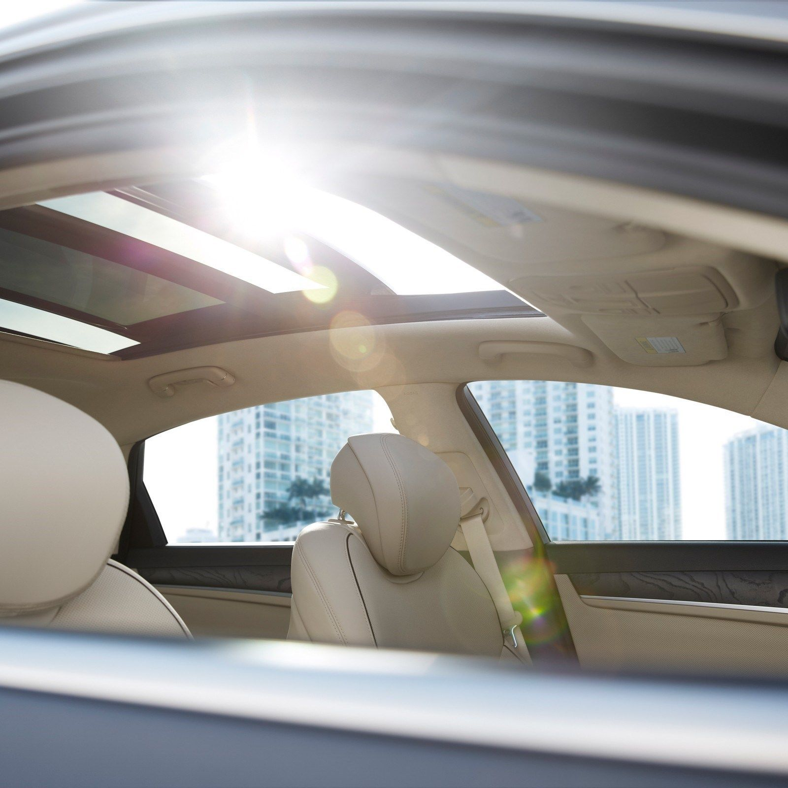 """<p>Let the sun in, but only if you want to with a panoramic sunroof that&nbsp&#x3B;not only extends from windshield to back window, but also tilts to let the air in. And if you tire of the sun and its warming glow, you'll want a power rear sunshade for the back window, and manual rear window shades for your exalted friends. <span class=""""redactor-invisible-space"""" data-verified=""""redactor"""" data-redactor-tag=""""span"""" data-redactor-class=""""redactor-invisible-space""""></span><span class=""""redactor-invisible-space"""" data-verified=""""redactor"""" data-redactor-tag=""""span"""" data-redactor-class=""""redactor-invisible-space""""></span><span class=""""redactor-invisible-space"""" data-verified=""""redactor"""" data-redactor-tag=""""span"""" data-redactor-class=""""redactor-invisible-space""""></span></p>"""