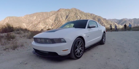 Supercharged Ford Mustang One Take