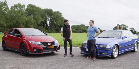 How Does an E36 M3 Compare to a 306-hp 2016 Civic Type R on the Track?