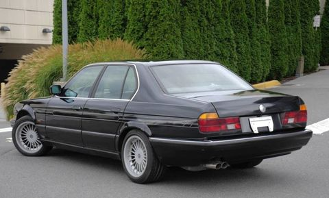 The Coolest BMW 7 Series Ever Made Is for Sale, and It Has a