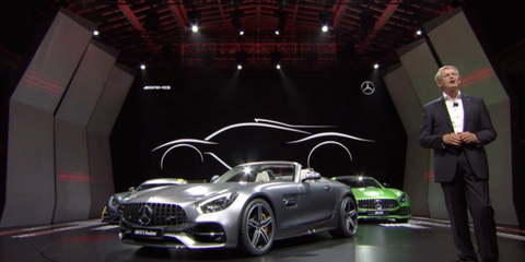 Mercedes-AMG Confirms It's Building an F1-Engined Hybrid Hypercar