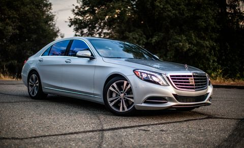"""<p>Plug-in hybrids don't get more decadent than the Mercedes-Benz S550e, which makes no compromises to luxury in the transition to electrification. Indeed, with 436 total horsepower and, <a href=""""http://www.caranddriver.com/reviews/2015-mercedes-benz-s550e-plug-in-hybrid-test-review"""">in our testing,</a> a zero-to-60-mph time of 4.9 seconds, the S550e is a worthy competitor to the V-8–powered S550 in nearly every respect, from performance to luxury and from prestige to sense of occasion. As for efficiency, well, its electric-only range is a modest 12 miles, and we noticed little efficiency advantage over the regular S550 in our real-world tests. Your mileage may vary. We sure hope it does. </p><p><a href=""""http://www.caranddriver.com/mercedes-benz/s-class http://www.caranddriver.com/reviews/2015-mercedes-benz-s550e-plug-in-hybrid-test-review"""" target=""""_blank""""><em data-redactor-tag=""""em""""><strong data-redactor-tag=""""strong""""><span id=""""selection-marker-1"""" class=""""redactor-selection-marker"""" data-verified=""""redactor"""" data-redactor-tag=""""span"""" data-redactor-class=""""redactor-selection-marker""""></span>Read More</strong></em></a><br></p>"""