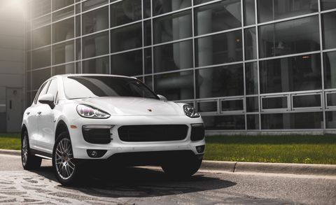 """<p>As with the Cayenne E-Hybrid SUV, a gasoline/electric Porsche sedan seems silly, yet the Panamera S E-Hybrid's sporting bona fides are unquestionable from behind the wheel. With a combined 416 horsepower from its supercharged V-6 and electric motors, the Panamera S E-Hybrid accelerates briskly, and its low center of gravity and wonderfully tactile steering make it a joy to turn. A full battery can provide 15 miles of driving in E-Power mode, the most of any luxury model here that isn't the BMW i3.</p><p><a href=""""http://www.caranddriver.com/porsche/panamera http://www.caranddriver.com/reviews/2014-porsche-panamera-s-e-hybrid-first-drive-review"""" target=""""_blank""""><strong data-redactor-tag=""""strong""""><em data-redactor-tag=""""em""""><span id=""""selection-marker-1"""" class=""""redactor-selection-marker"""" data-verified=""""redactor"""" data-redactor-tag=""""span"""" data-redactor-class=""""redactor-selection-marker""""></span>Read More</em></strong></a><br></p>"""