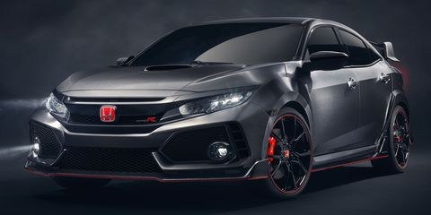 Here S The Civic Type R That Coming To America In 2017