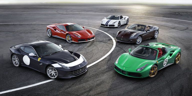 Here Are All 70 Special Edition Liveries Ferrari Created for Its ...