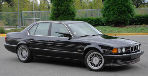 The Coolest BMW Series Ever Made Is For Sale And It Has A Manual - Bmw 750i alpina