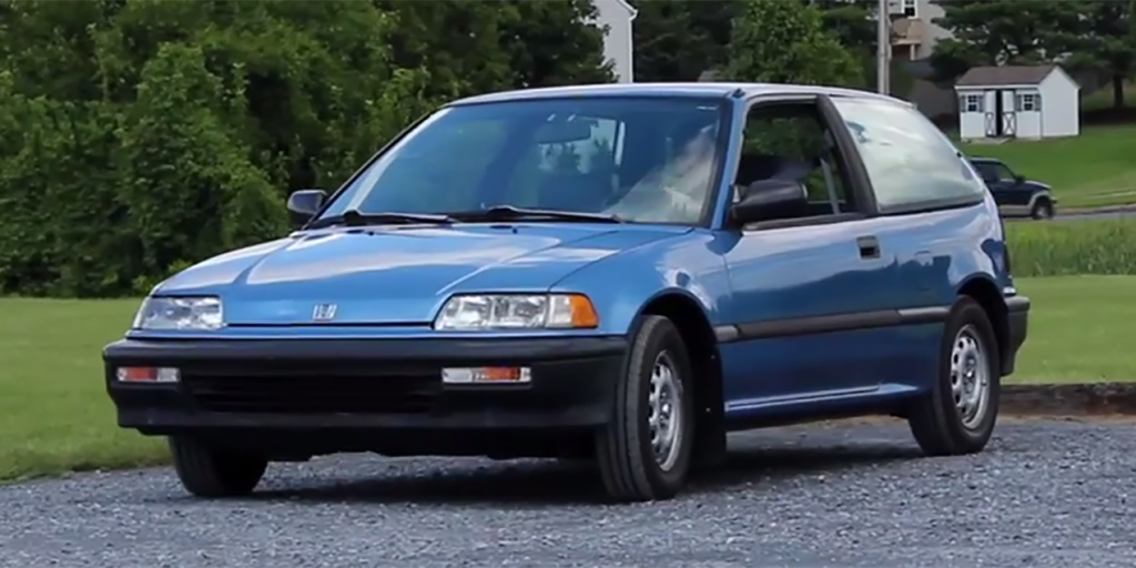 The 1991 Honda Civic Hatchback Was Brilliant Because It