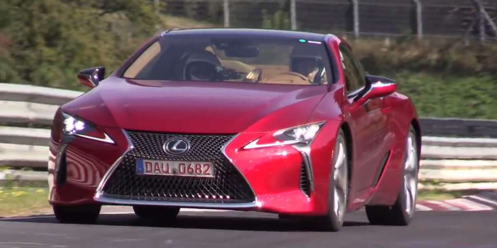 The Lexus LC 500 Sounds Fantastic Testing on the Nurburgring