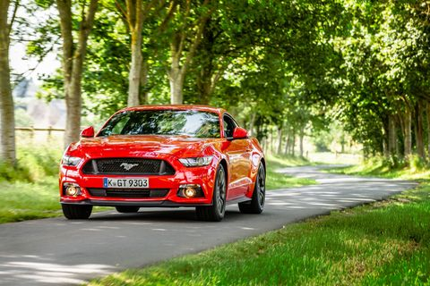All the Changes Ford Made to Sell the Mustang in Europe