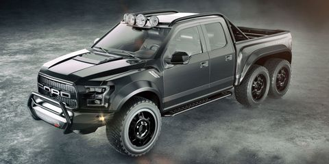 Heavens to Betsy, Hennessey Is Making a 600-HP Raptor 6x6