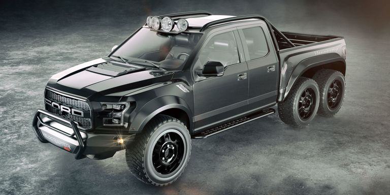 Six Hundred Horse Wheel Drive Meet Your Terrifyingly Awesome Twin Turbo Nightmare The Hennessey Velociraptor 6x6