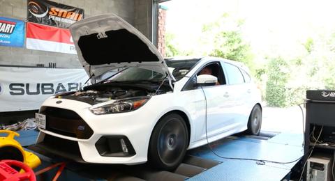 Ford Focus RS Dyno run