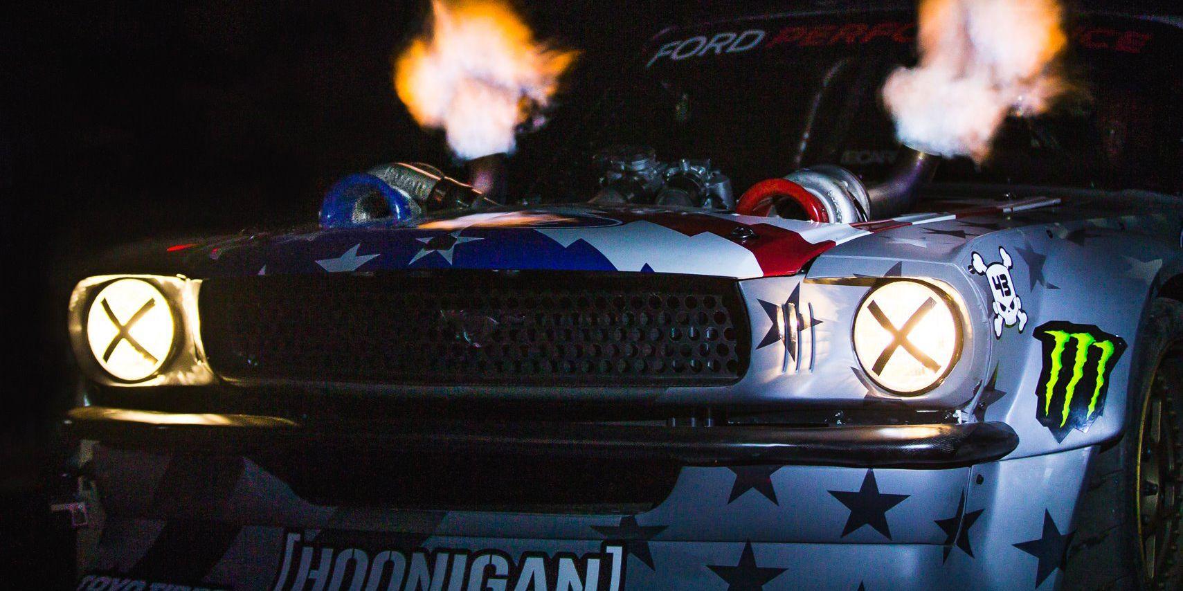 Ken block hoonicorn 2 hoonigan twin turbo mustang drift car