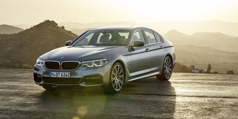 2018 bmw 5 series here it is. Black Bedroom Furniture Sets. Home Design Ideas