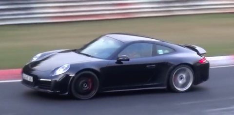 Porsche 911 Carrera GTS turbocharged nurburgring