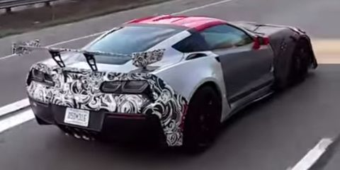 """<p>We're not sure exactly what <a href=""""http://www.roadandtrack.com/new-cars/future-cars/videos/a31055/chevrolet-corvette-zr1-spy-video/"""" target=""""_blank"""" data-tracking-id=""""recirc-text-link"""">this car is that we've seen out testing</a>. Some say it's the new ZR1, but that hasn't yet been confirmed. Whatever Chevrolet ends up calling it, we want to drive it. &nbsp;And rumor has it that this may be called the ZR1, and <a href=""""http://www.roadandtrack.com/new-cars/future-cars/news/a32059/leaked-documents-say-the-corvette-gets-a-dohc-v8-in-2018/"""" data-tracking-id=""""recirc-text-link"""">it might have a DOHC V8 dubbed the LT5</a>. These are all good things.</p>"""