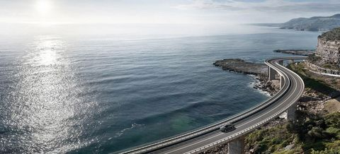 Body of water, Road, Infrastructure, Water resources, Water, Fluid, Waterway, Coastal and oceanic landforms, Horizon, Landscape,