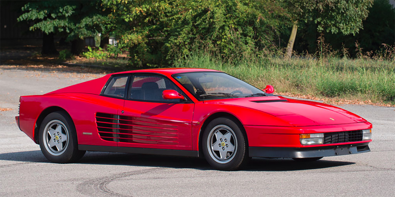 43Car Vintage Ferrari Auction Offers Prancing Horses at No Reserve