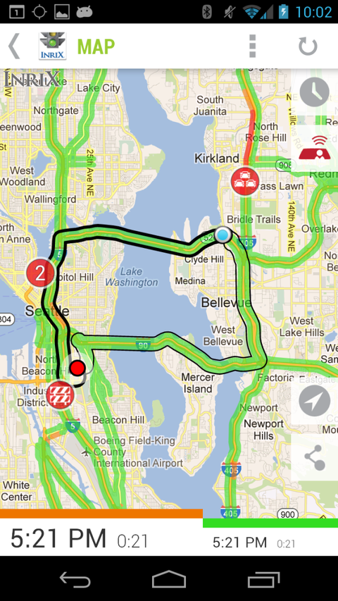 King 5 Traffic Map.Five Apps You Desperately Need To Beat Traffic