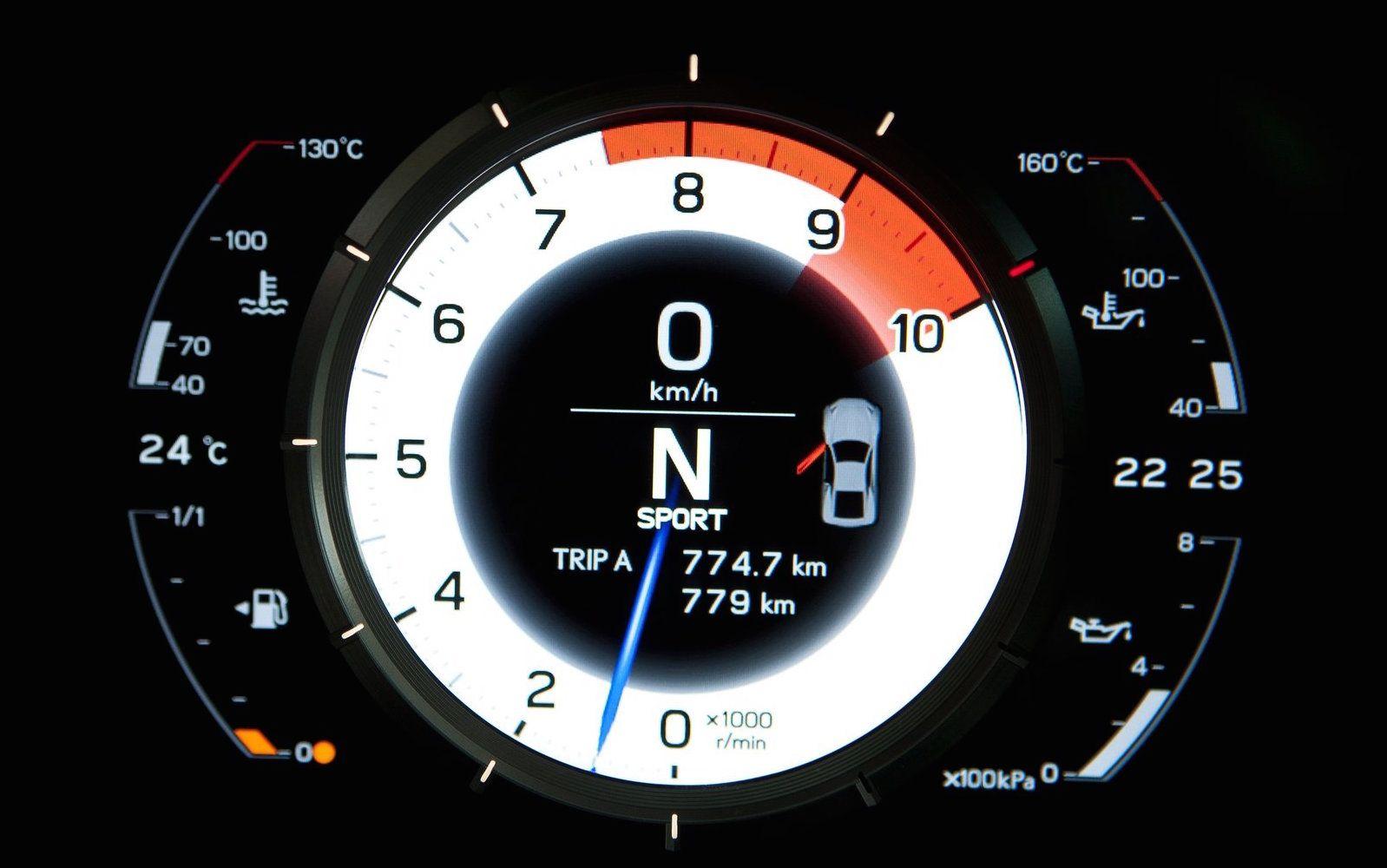 13 Coolest Digital Gauges Ever Made Best Car Dashboard Designs 1968 Camaro Dash Instrument Cluster Circuit Board With Tachometer