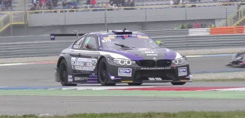 This Is A Mid Engined Bmw M4 Race Car And It S Kind Of Perfect