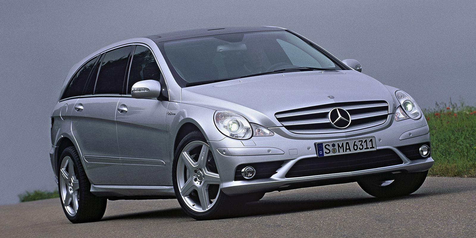 Remember When Mercedes Went Crazy And Built A 507 Hp Minivan