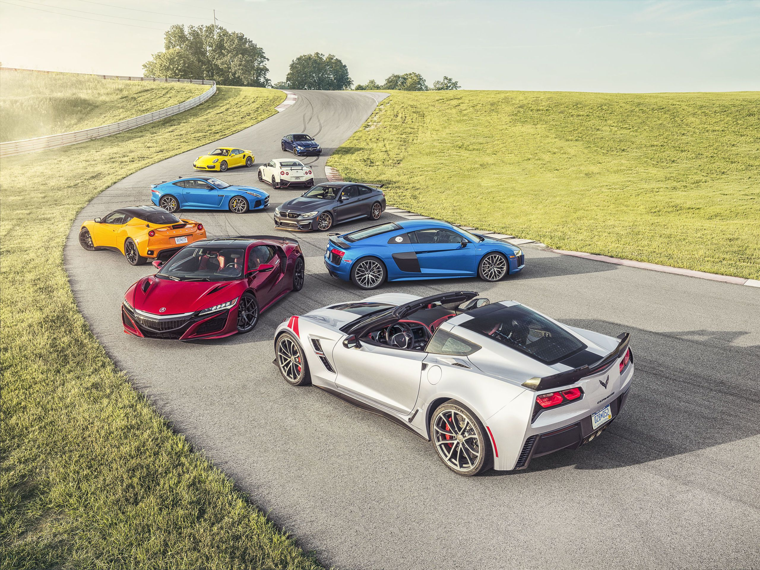 2017 best performance car of the year 2017 acura nsx named road