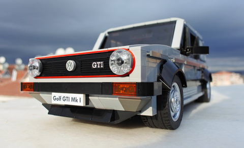 This Volkswagen Golf Gti Is The Coolest Lego Car Yet