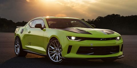 Chevy Built a Four-Cylinder Camaro Just for Autocross