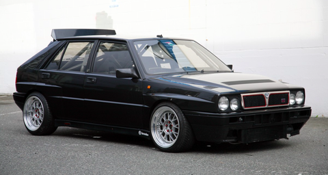This Race-Prepped Lancia Delta Intergrale Is the AWD Track Car of ...