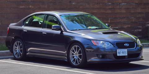 The Legacy 25gt Specb Was Subarus Grown Up Alternative To