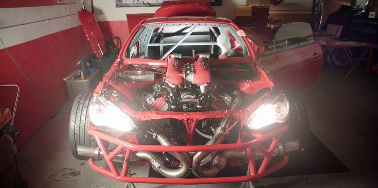 Listen to the Glorious Sound of this Ferrari 458-Powered Toyota 86