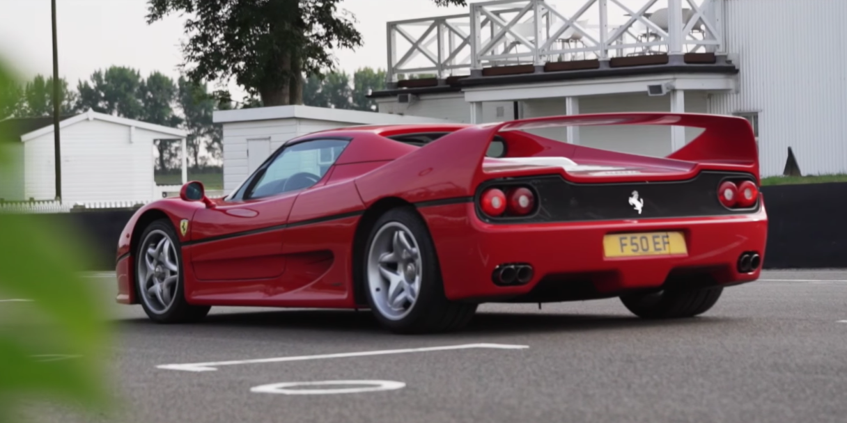 Seeing A Ferrari F50 Is Always A Huge Deal