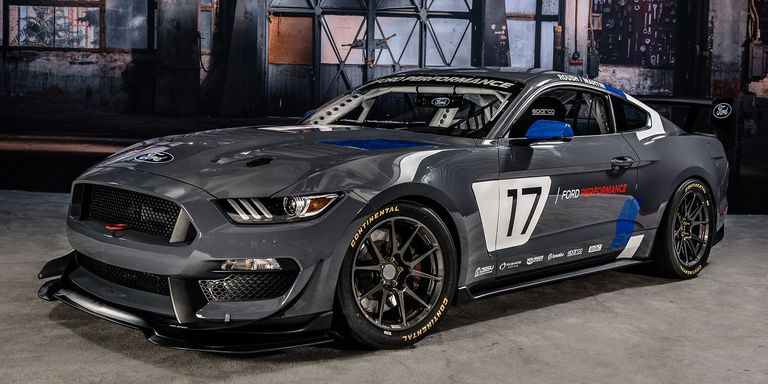 The Ford Mustang Gt4 Is A Shelby Gt350 Based Ready Made