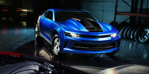 Chevy Will Debut the 10-Second 2017 COPO Camaro at SEMA